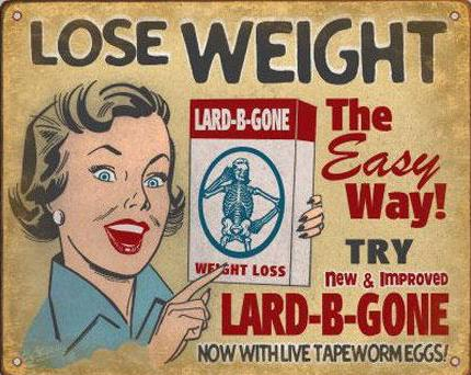 tape worm diet
