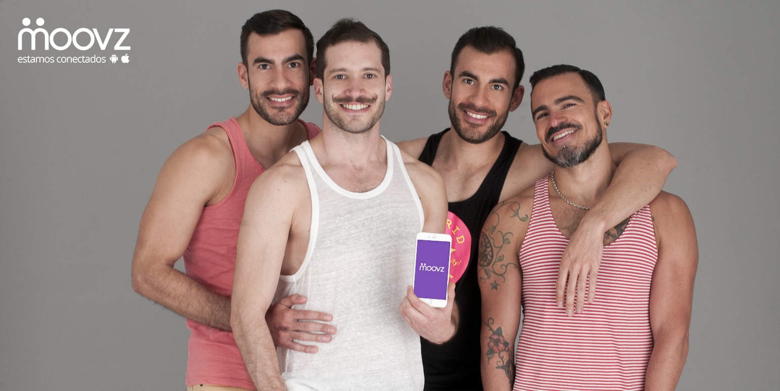 Moovz is a pioneering social network for gay