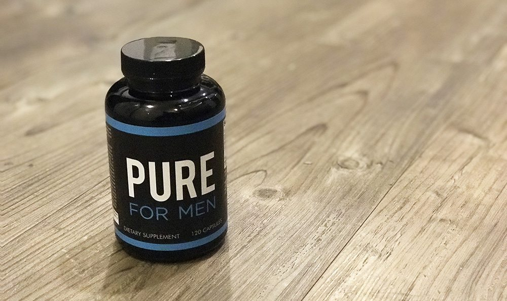 Pure for men supplements