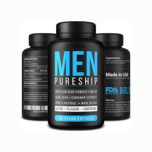 PURESHIP fiber pills for men