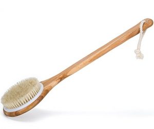 exfoliating shower brush