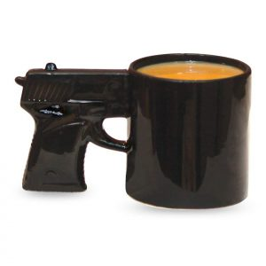 Gun Handle Coffee Mug