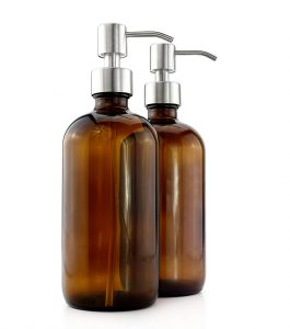 Glass Soap Dispensers