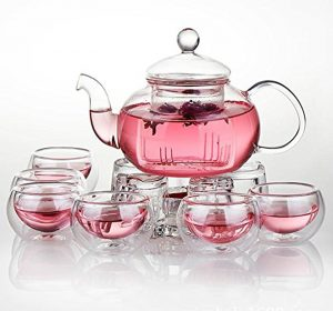 Glass Tea Cup Set