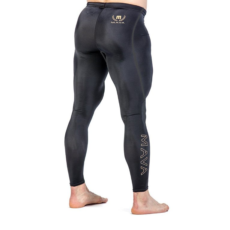 Mava Men's Compression Long Leggings