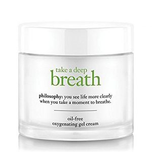 Take a deep breath face moisturizer