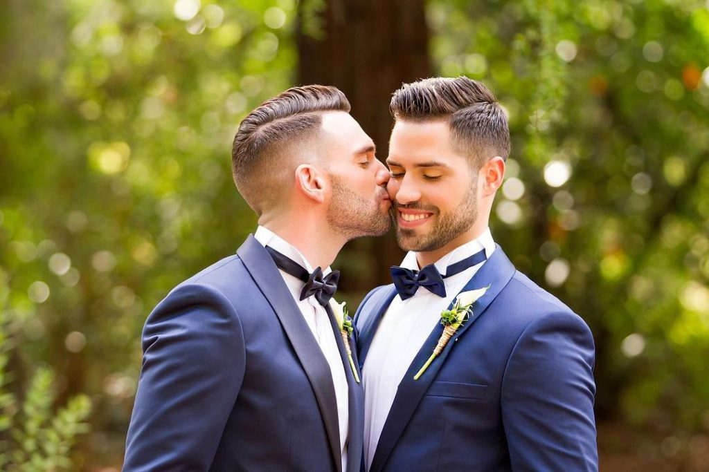 male gay wedding image