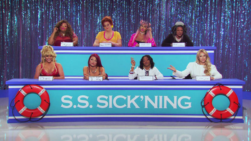 RuPaul's Drag Race Season 11 Ep 8: Snatch Game at Sea