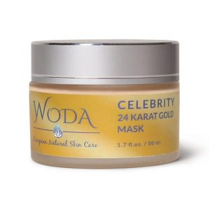 WODA European Skin Care Celebrity 24 Karat Gold Mask