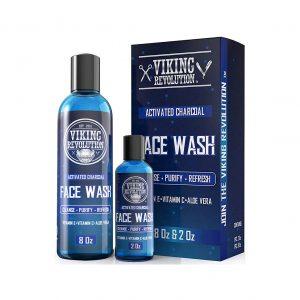 Viking Revolution Charcoal Face Wash for Men