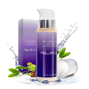 My Alle Care Face Wash AHA BHA Exfoliating Cleanser for Women and Men