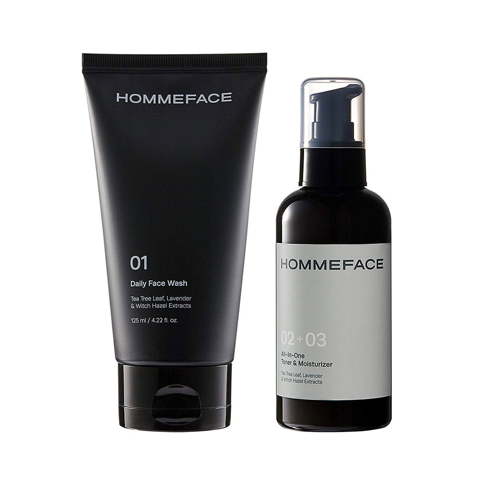 HOMMEFACE Easy Duo Skin Care Set for Men