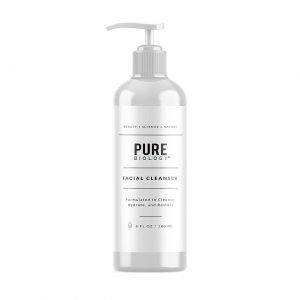 Pure Biology Facial Cleanser with Hyaluronic Acid