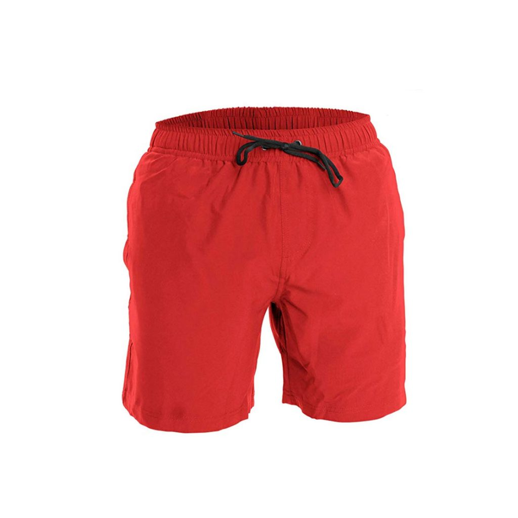 Fort Isle Men's Swim Trunks and Workout Shorts