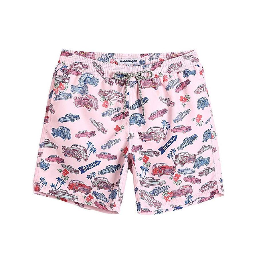 MaaMgic Mens Boys Short Swim Trunks