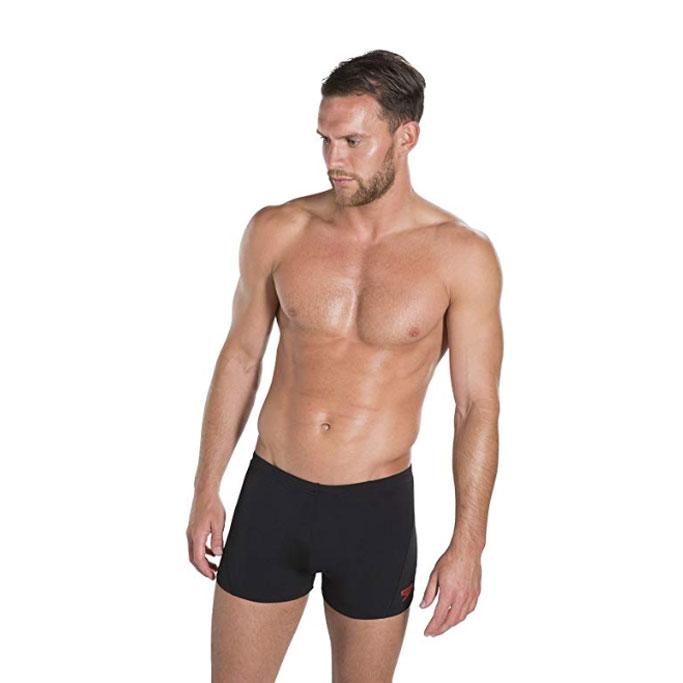Speedo Men Ml Solid Endurance Square Leg