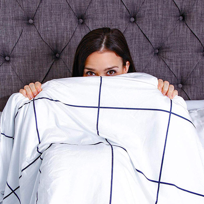 AuraBlankets Cooling Weighted Blanket