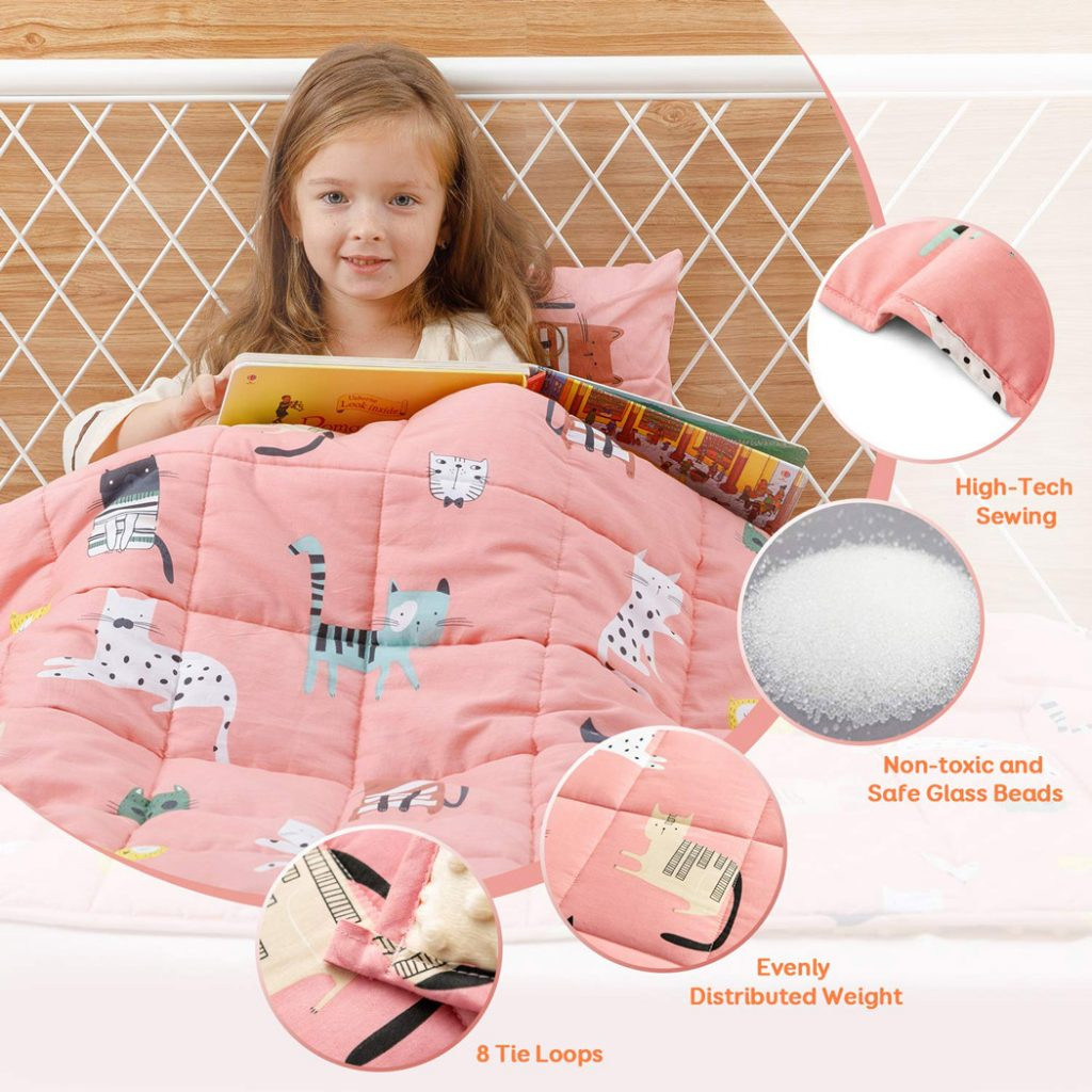 BUZIO Kids Weighted Blanket