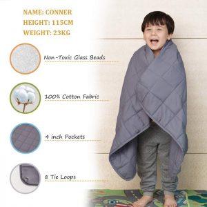 ROSMARUS Child Weighted Blanket Kids