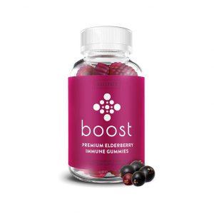 Boost Premium Elderberry Gummies for Adults & Kids