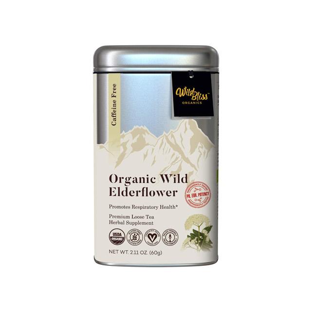 Wild Bliss Organics Elderflower Tea