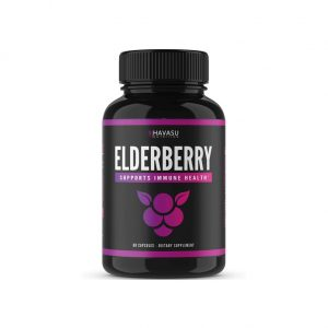 Havasu Nutrition Elderberry Capsules with Sambucus Nigra and Antioxidants