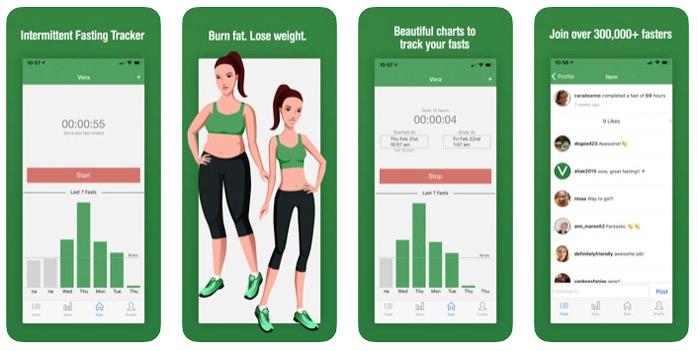 Vora fasting app