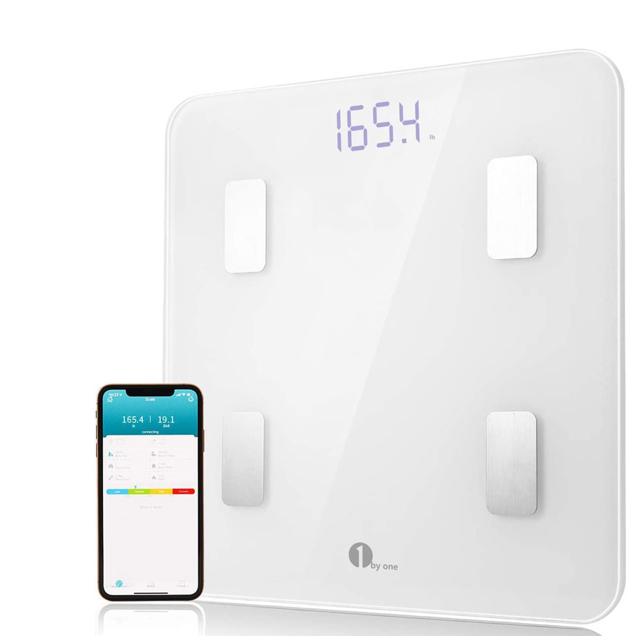 1 By One Scales Digital Weight and Body Fat Scale