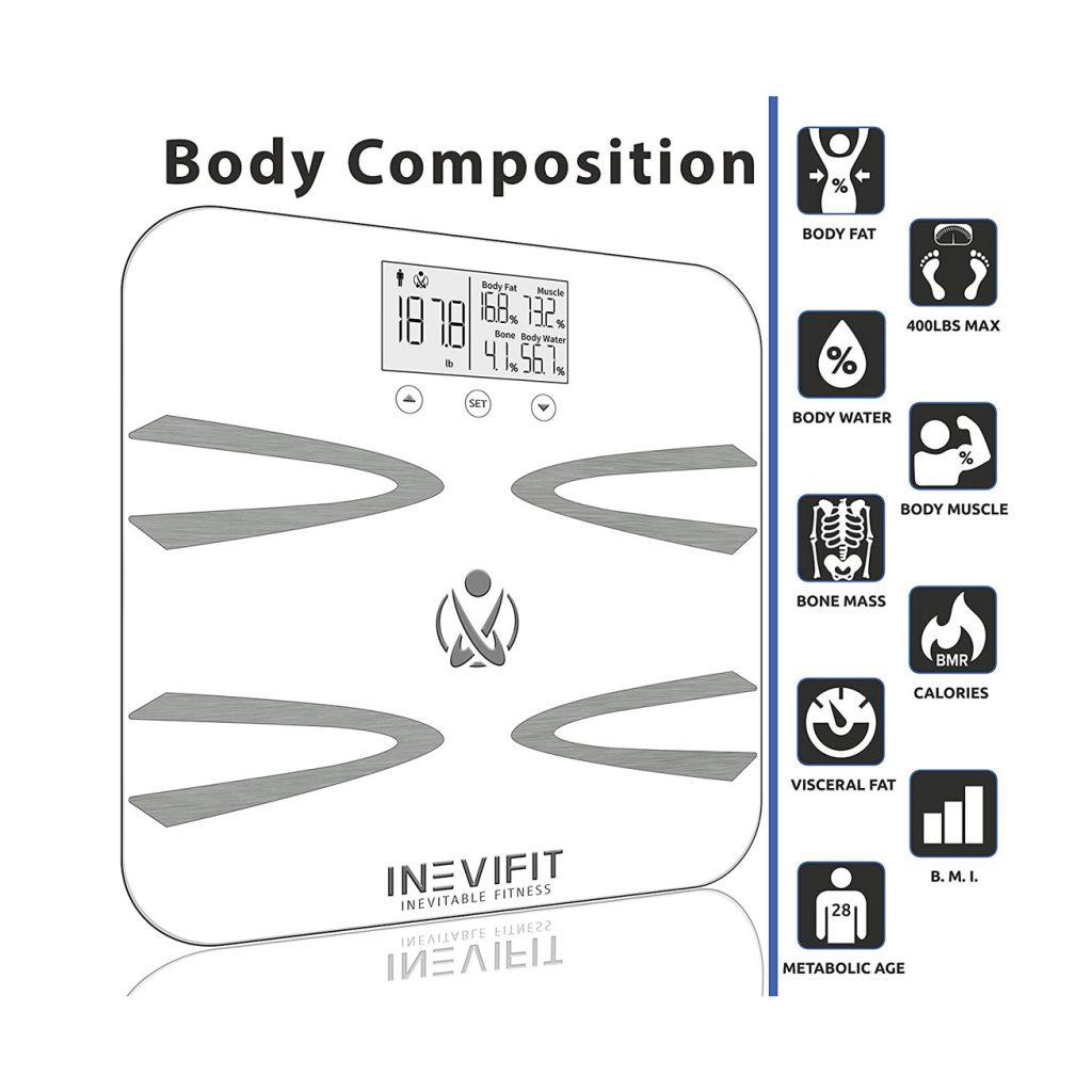INEVIFIT Body-Analyzer Scale