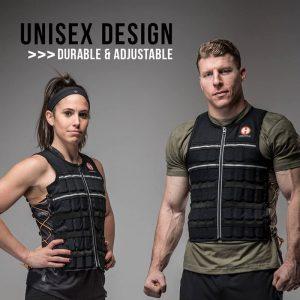 Hyperwear Hyper Vest Elite Adjustable Weighted Exercise Vest