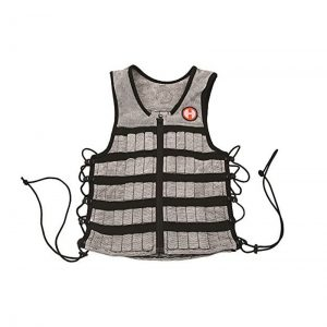 Hyperwear Hyper Vest PRO Unisex 10-Pound Adjustable Weighted Vest for Fitness Workouts