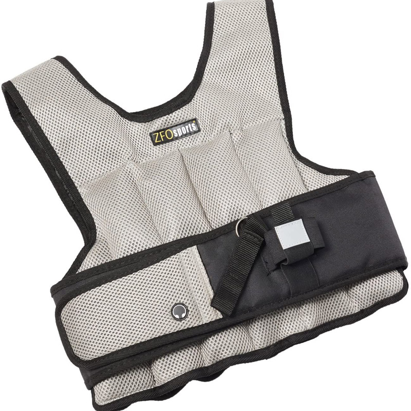 ZFOsports Short Weighted Vest 12lbs - 50lbs
