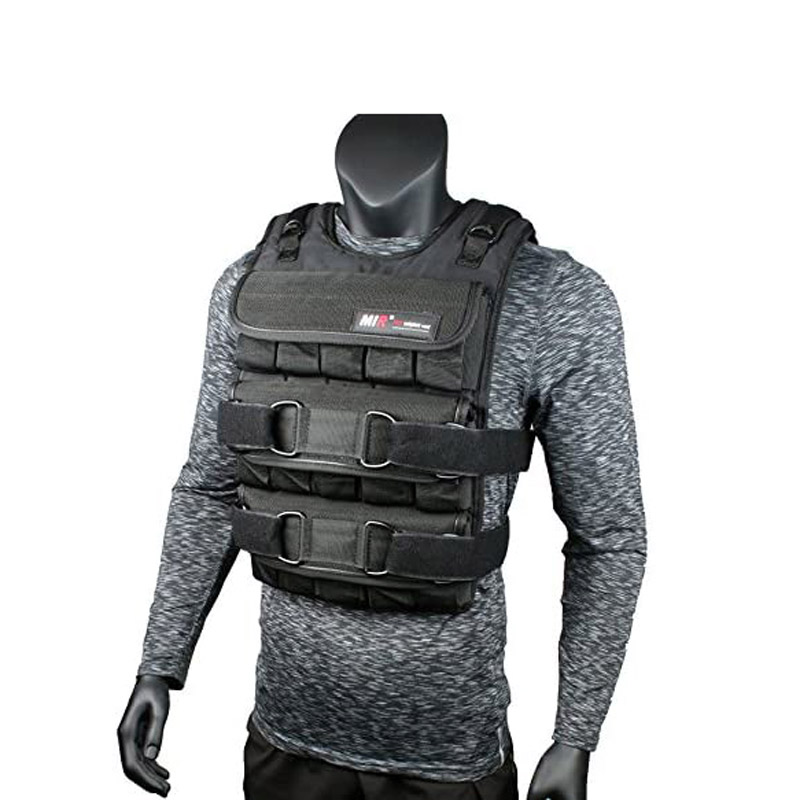 MiR PRO Weighted Vest with Zipper