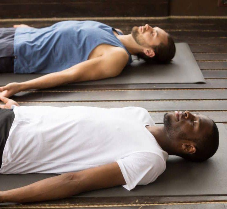 gay couple yoga