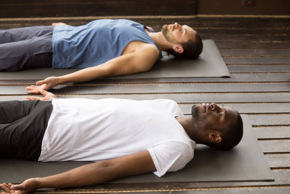 gay couple yoga